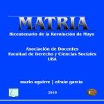 MATRIA - Presentación en el Instituto Gioja